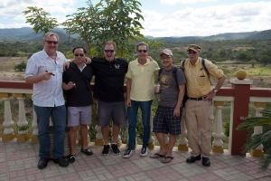 group photo at Drew Estate