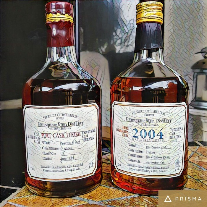 Rum Review: Foursquare 2004 and Port CaskFinish