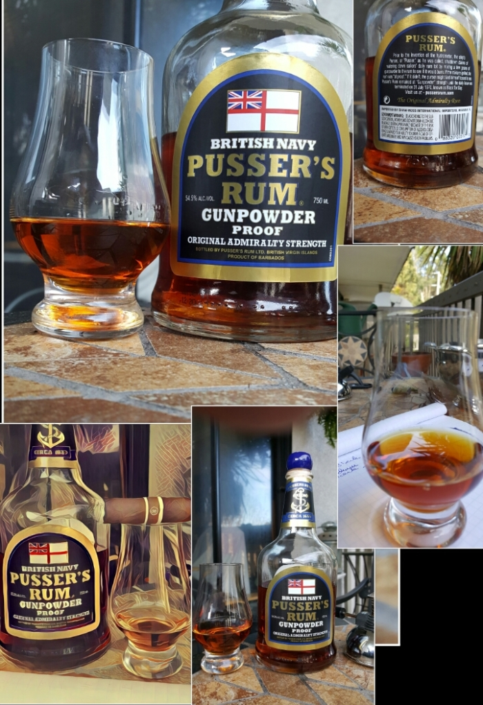 Rum Review: Pusser's Black Label Gunpowder Proof