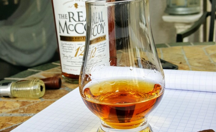 Rum Review: Real McCoy small batch 12 year old rum