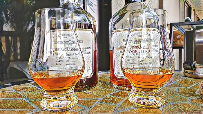 Comparing Foursquare Port to Zinfandel Cask Rum