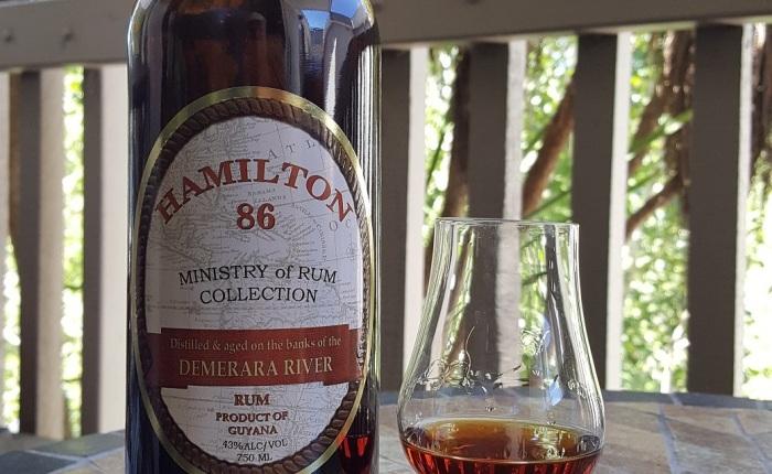 Hamilton 86 GuyanaRum