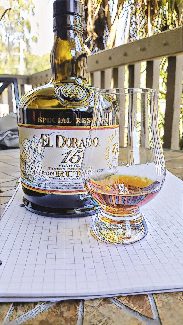 Rum Review: El Dorado15