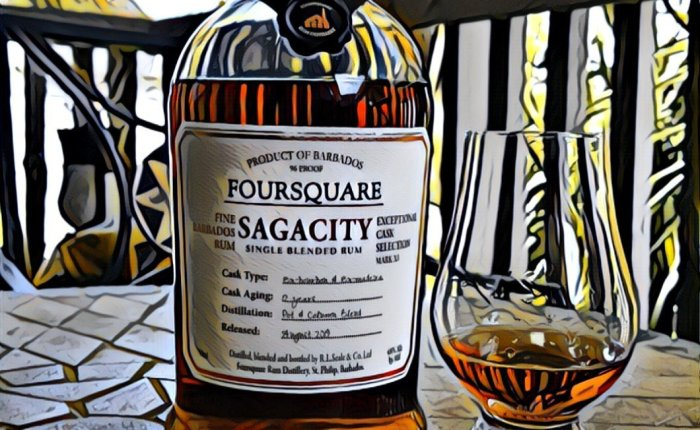 Rum Review: Foursquare-Velier SAGACITY12-year
